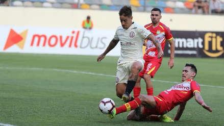 Universitario de Deportes empató 1-1 con Sport Huancayo por la fecha 8 del Apertura