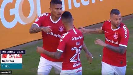 La emotiva narración brasileña del gol de Paolo Guerrero ante Flamengo