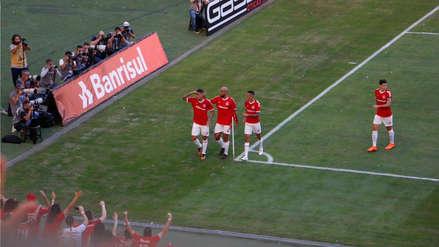 ¡Impresionante! Así vibró el Beira-Rio con el gol de Paolo Guerrero a Flamengo