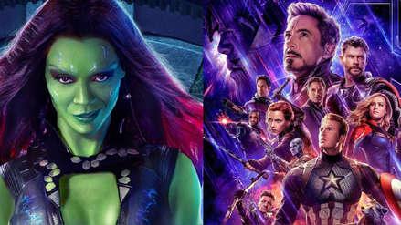 Actriz que da vida a Gamora se luce cantando en español en el rodaje de