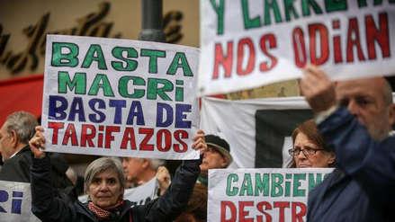 Paro de transporte, ollas populares y marchas en primero de mayo contra el Gobierno de Mauricio Macri