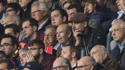 Pep Guardiola viajó a Barcelona para ver brillar a Lionel Messi en el Camp Nou