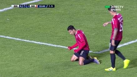 Copa Sudamericana | El golazo de Cecilio Domínguez que liquidó a Binacional