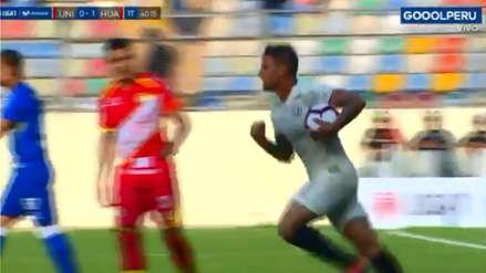 Universitario de Deportes: Germán Denis anotó el gol del empate ante Sport Huancayo