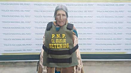 Puno: Anciana de 72 años fue detenida por estar en la lista de