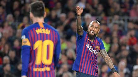 Barcelona vs. Liverpool: Arturo Vidal es la principal novedad en la alineación del cuadro azulgrana
