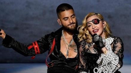 Dos leyendas juntas: Así fue la presentación de Maluma y Madonna en los Billboard Music Awards