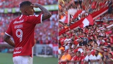 Paolo Guerrero recibió impresionante elogio de hincha del Inter de Porto Alegre