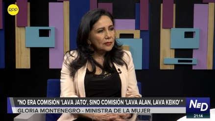 Ministra de la Mujer sobre Comisión Lava Jato: