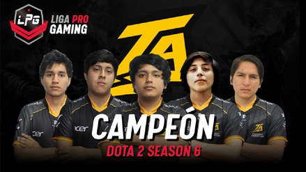 Dota 2 | Thunder Predator derrotó a Unknown 2.0 y se coronó campeón de la Liga Pro Gaming