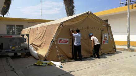 Lambayeque: Instalan hospital para atender casos de dengue, pasó un mes y no funciona