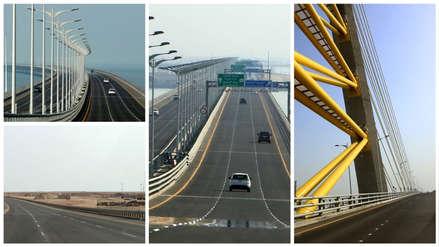 Kuwait inauguró uno de los puentes marítimos más largos del mundo [FOTOS]