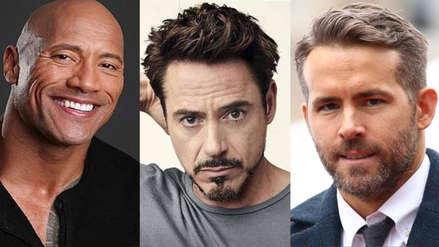 Estas son las estrellas de Hollywood con mejores sueldos en el 2019 según