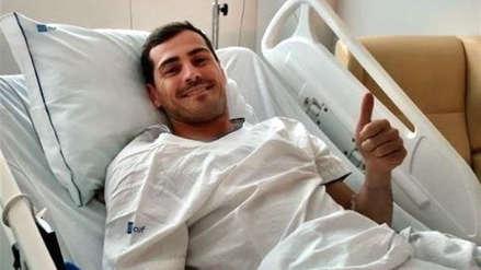 Iker Casillas pasó su primera noche en el hospital tras sufrir un infarto