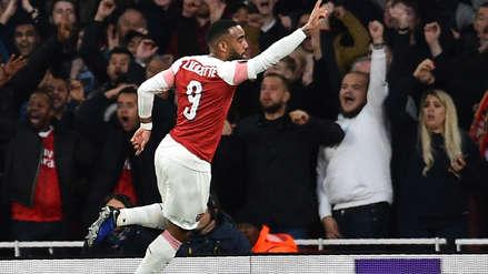 Arsenal ganó 3-1 a Valencia por la semifinal de ida de la Europa League