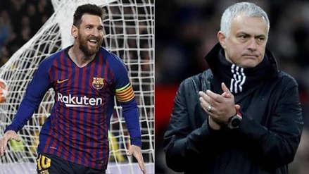 José Mourinho se rinde a Lionel Messi: