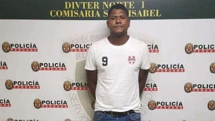 Juan 'Chiquito' Flores es detenido tras agredir a su pareja