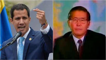 Juan Guaidó denuncia que Nicolás Maduro quiere disolver el Congreso y lo compara con Alberto Fujimori