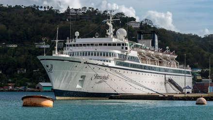 Barco de la polémica iglesia de la Cienciología fue puesto en cuarentena por brote de sarampión