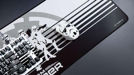 ¿Fanático de Star Wars? Homenajean a la saga con un teclado y mouse de edición limitada