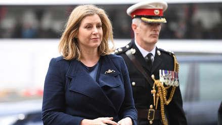 Penny Mordaunt, la primera mujer británica en ocupar el cargo de ministra de Defensa