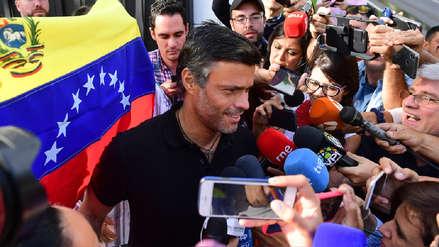 España advierte a Leopoldo López que no permitirá