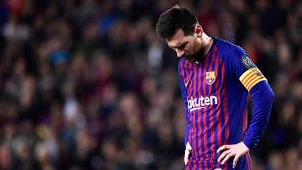 Messi fue desconvocado para el siguiente partido de Barcelona en La Liga