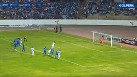 Alianza Lima vs Manucci: Mauricio Affonso abrió el marcador desde los doce pasos