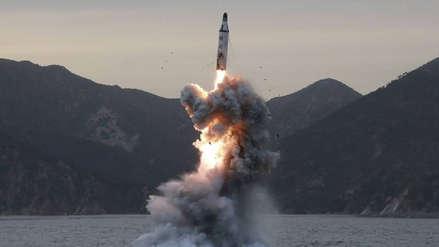 Corea del Norte lanza un misil de corto alcance en nueva prueba balística