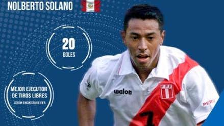 Conmebol elogió a Nolberto Solano y recordó su debut con la Selección Peruana