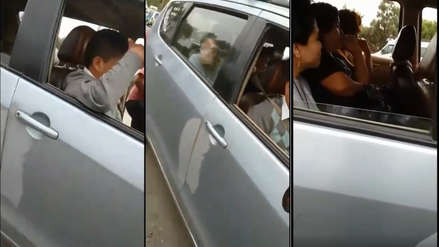 Pasajero agrede a inspectora de transportes durante operativo en Trujillo