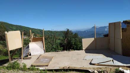 Lambayeque| Fuertes vientos se llevan aula de triplay de colegio inicial