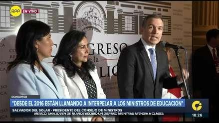 Salvador del Solar sobre liberación de hermanos Chávez Sotelo: Hay