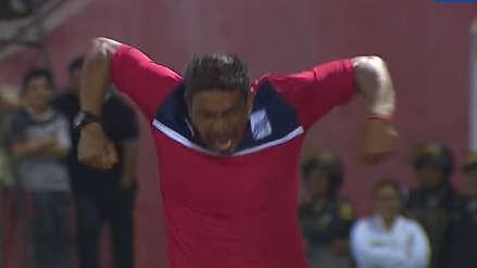 Alianza Lima: José Soto y su eufórica celebración por el segundo gol de Carlos A. Mannucci
