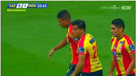 Cruz Azul vs. Monarcas Morelia: Edison Flores marcó gol tras asistencia de Irven Ávila