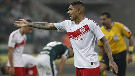 Paolo Guerrero y su dura crítica al árbitro del Inter-Palmeiras: