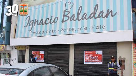 Municipalidad de Los Olivos clausuró pastelería de Ignacio Baladán por insalubre