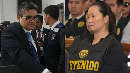 José Domingo Pérez pide que el fiscal y el juez que verán casación de Keiko Fujimori se inhiban