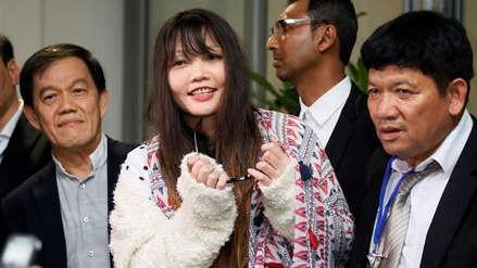Malasia liberó a la vietnamita acusada la muerte de Kim Jong-nam