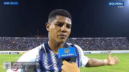 Alianza Lima: Wilder Cartagena explotó tras empate 2-2 ante Carlos A. Mannucci