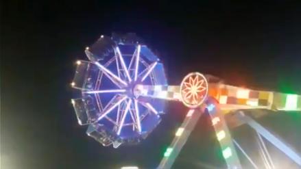 Pánico en parque de diversiones: 31 personas quedaron atrapadas por 5 horas en rueda de la fortuna