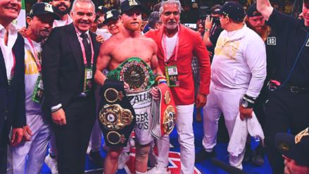 'Canelo' Álvarez derrotó a Daniel Jacobs por decisión unánime y se llevó el título unificado de los pesos medianos