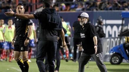 ¡Con las manos vacías! Dorados de Maradona perdió ante San Luis y se quedó sin ascenso a Primera en México