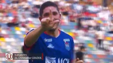 De camarín: Santiago Silva marcó el cuarto gol de César Vallejo ante Universitario al minuto del segundo tiempo