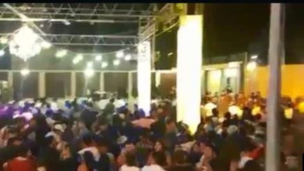 Video |Así terminó fiesta semáforo con gresca, balacera y varios heridos
