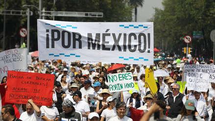 15 imágenes de la protesta en la que miles de mexicanos rechazaron las políticas de López Obrador