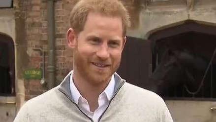 Príncipe Harry sobre el nacimiento de su hijo: