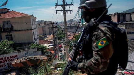 Operativo policial deja ocho muertos en una favela de Río de Janeiro