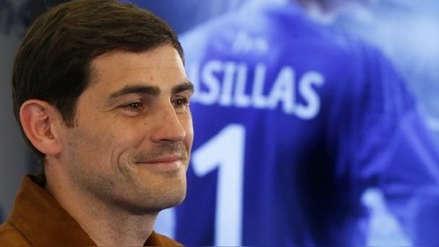 Iker Casillas se toma la recuperación con humor: