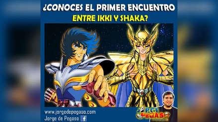 ¿Conoces el primer encuentro entre Ikki y Shaka?
